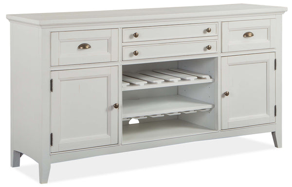 Magnussen Furniture Heron Cove Buffet in Chalk White D4400-14 image