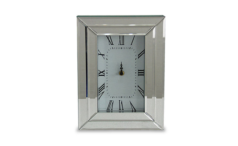 AICO Montreal Rectangular Table Clock FS-MNTRL-5043