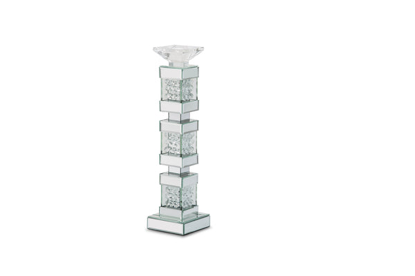 AICO Montreal Mirrored/Crystal Candle Holders, Tall (2/pack) FS-MNTRL151-PK2
