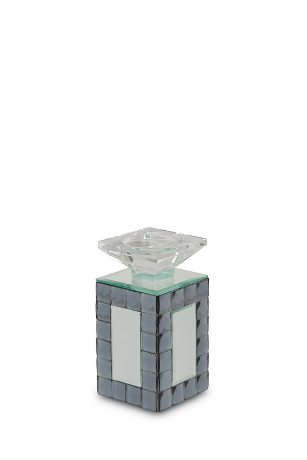 AICO Montreal Mirrored Candle Holder, Small (6/pack) FS-MNTRL152S-PK6