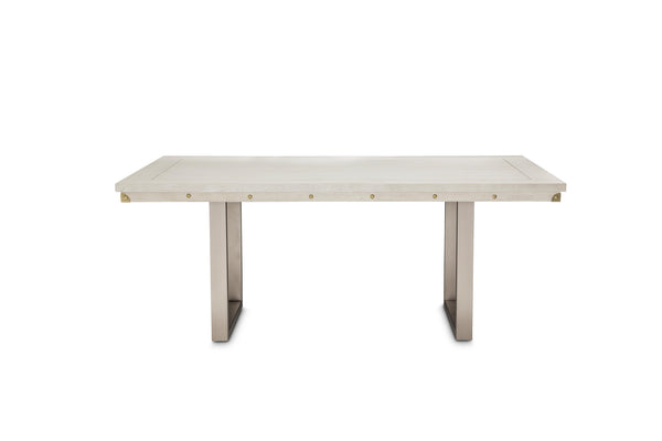 AICO Menlo Station Rectangular Dining Table in Eucalyptus KI-MENP000-123