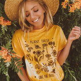 """Plant These and Save The Bees"" 