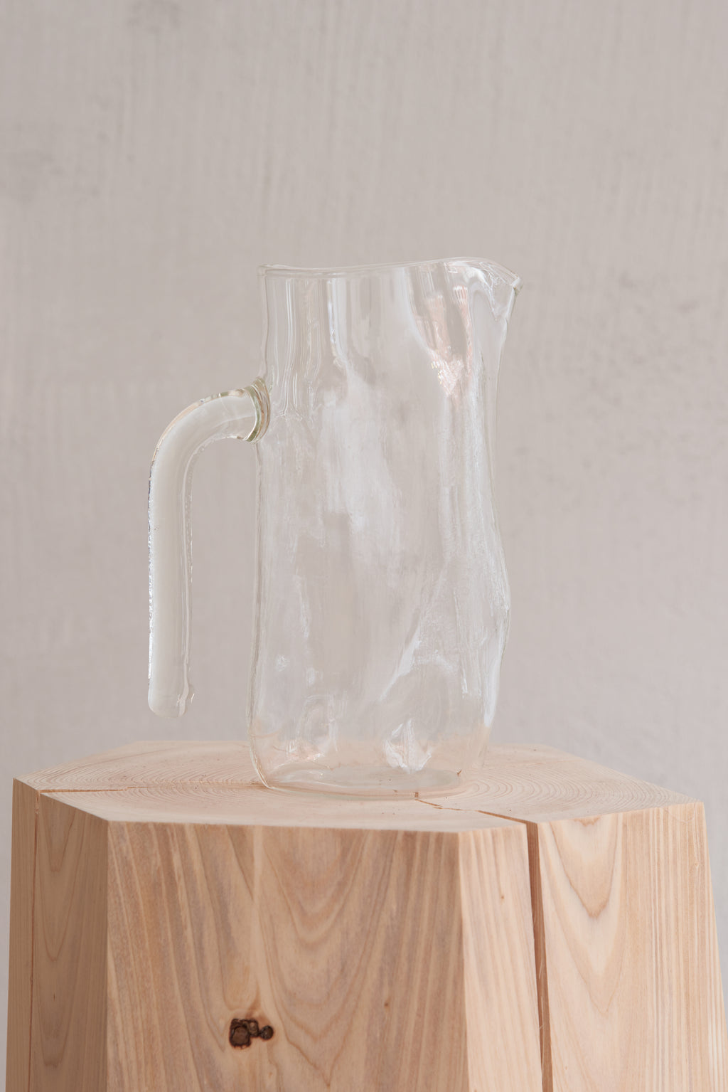 Jochen Holz - Glass - Jug with handle
