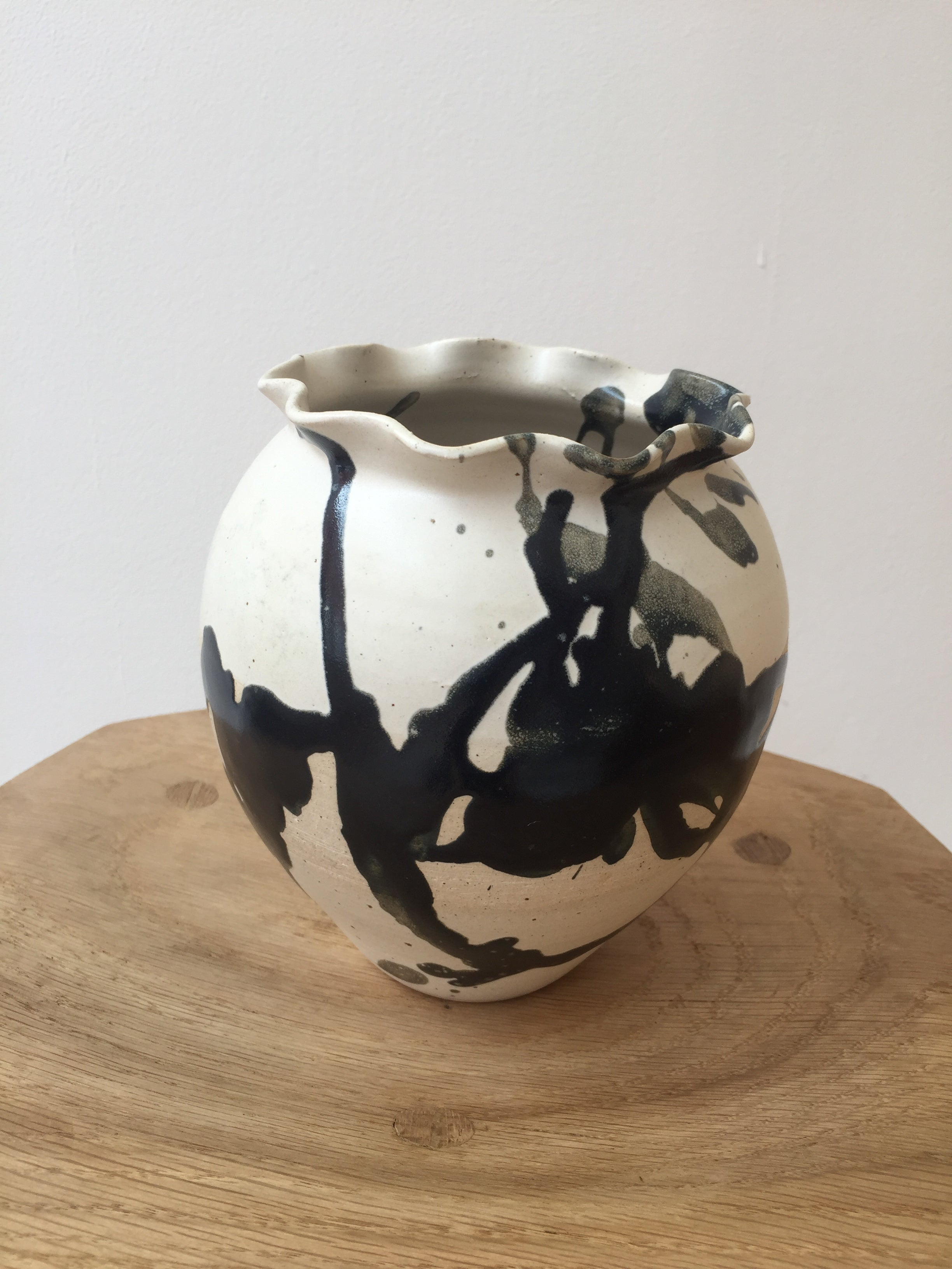 Mud Belly Ceramic Vessel