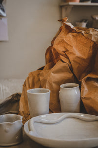 KANA White Spoon