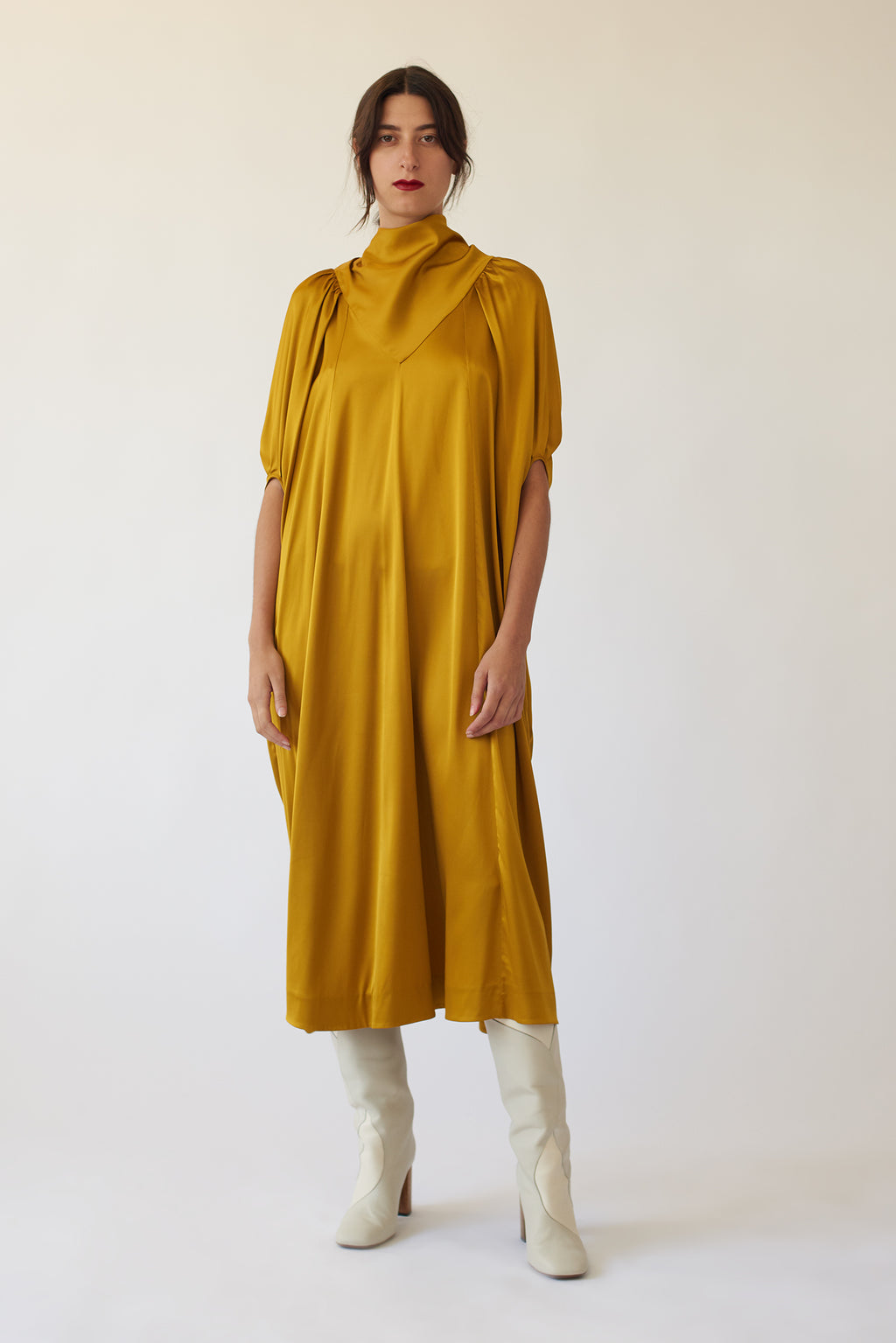 Apex Full Viscose Dress