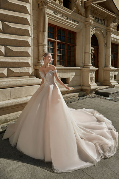 Amelia - Off-the-shoulder Ball Gown