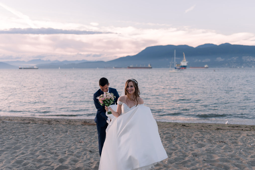 Jericho Beach Vancouver wedding
