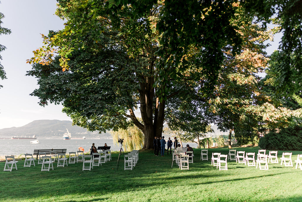 Brock House Wedding Ceremony