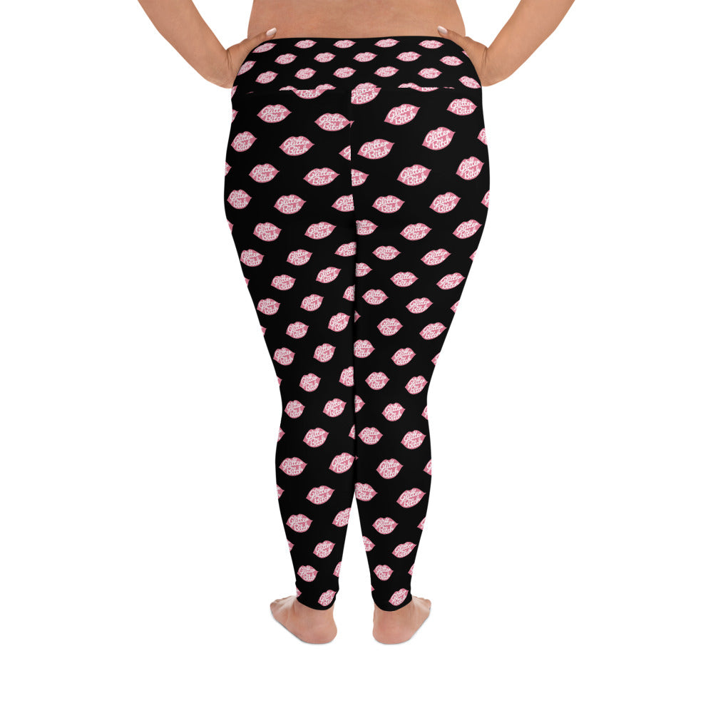 Leggings - Plus Size Black