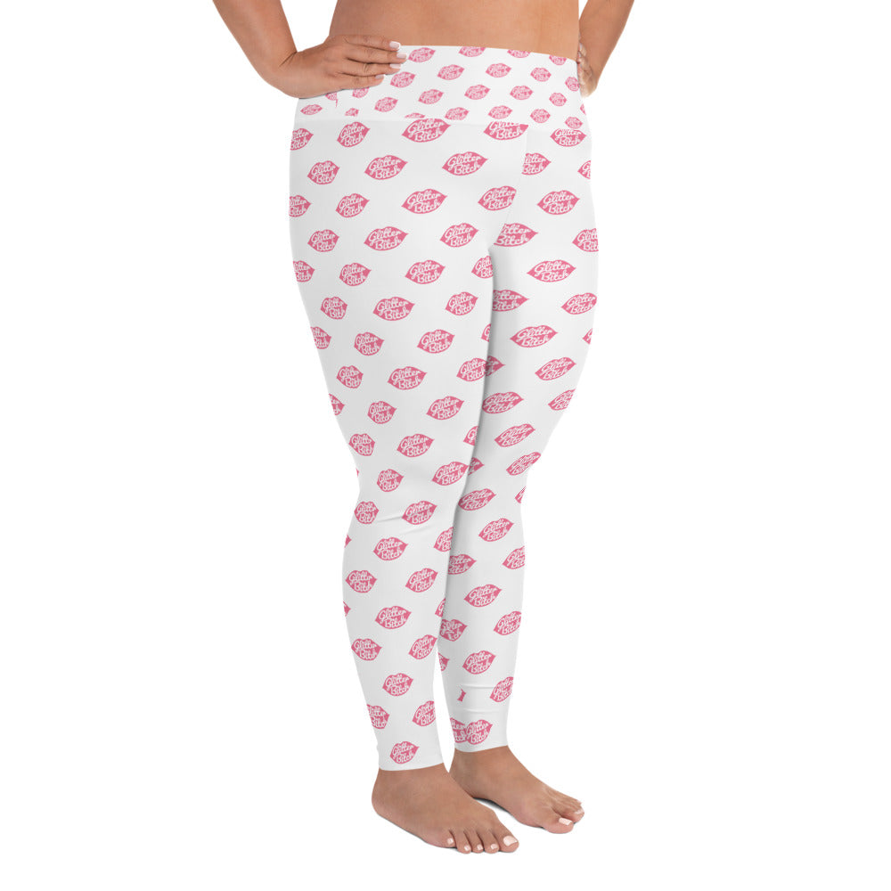 Leggings - Plus Size White