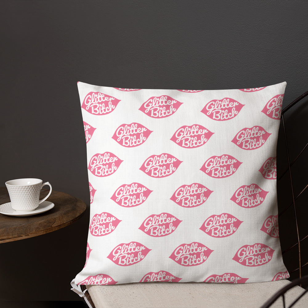 Premium Pillow - Pattern White