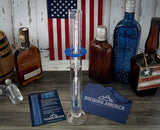 Hydrometer Alcohol Meter Test Kit Distilled Alcohol American-Made 0-200 Proof Pro Series Glass Jar American Hydrometer Test Kits Brewing America