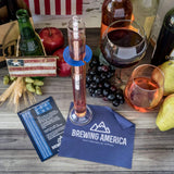 American-Made Alcohol Hydrometer Tester 0-200 Proof & Tralle Pro Series Traceable - For Distilling Single Hydrometer Brewing America
