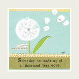 Curly Girl Design card Dandelion.