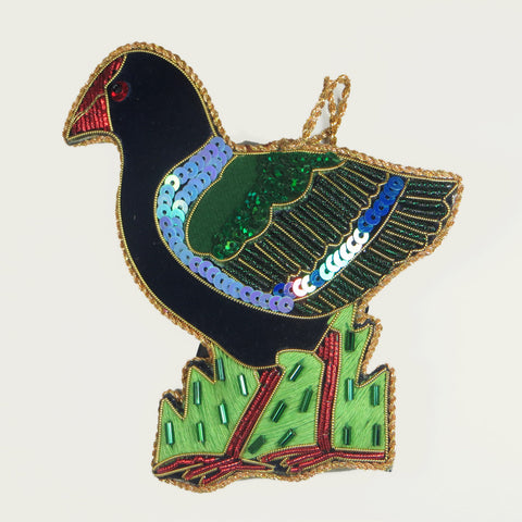 Caroline Mitchell collectible decoration Takahe front.