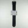 S.T.A.M.P.S black leather strap with Innocence face.