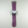 Purple leather strap with S.T.A.M.P.S Catwoman watch face.
