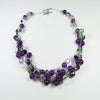 Tangled Glory Necklace in Purple.