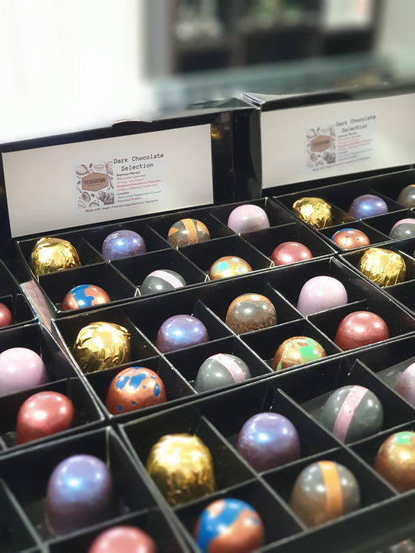 Boxed Pralines and Chocolates