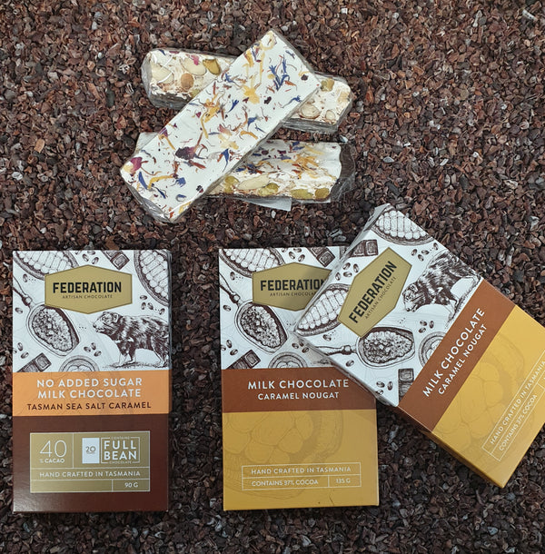 Nougat and Caramel gift pack with free express shipping