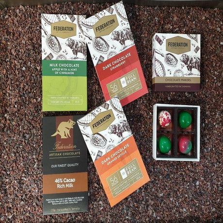 Fruity chocolate gift pack with free express shipping