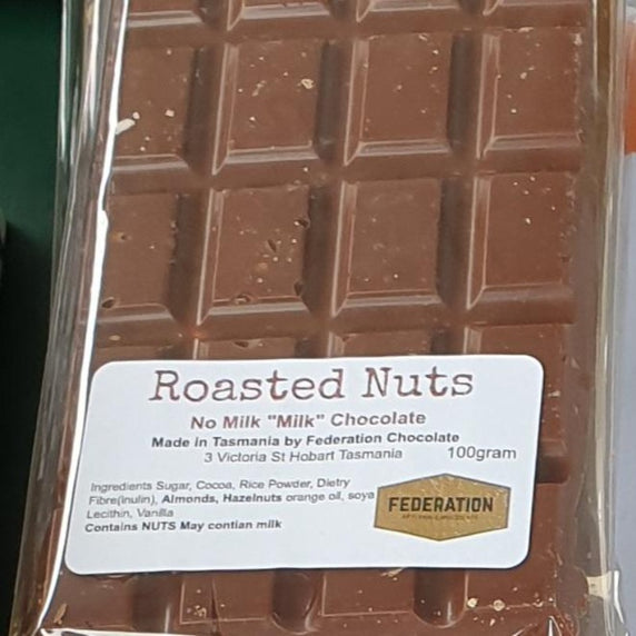 Roasted Nuts in M*LK Chocolate rich and creamy