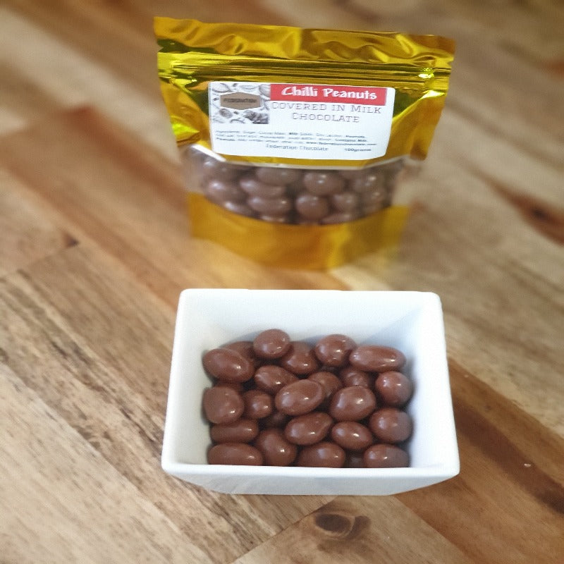 Milk Chocolate Chilli Peanuts