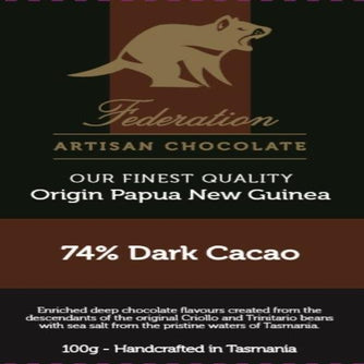 fudgey - Single Origin Papua New Guinea 74% Dark CACAO