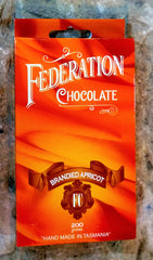 Brandied Apricot Dark Chocolate - Federation Artisan Chocolate - Tasmania