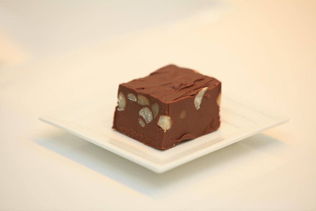 Chocolate Macadamia Nut Fudge - Federation Artisan Chocolate - Tasmania