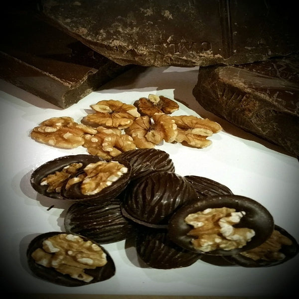 fudgey - Tasmanian Dark Chocolate Walnuts