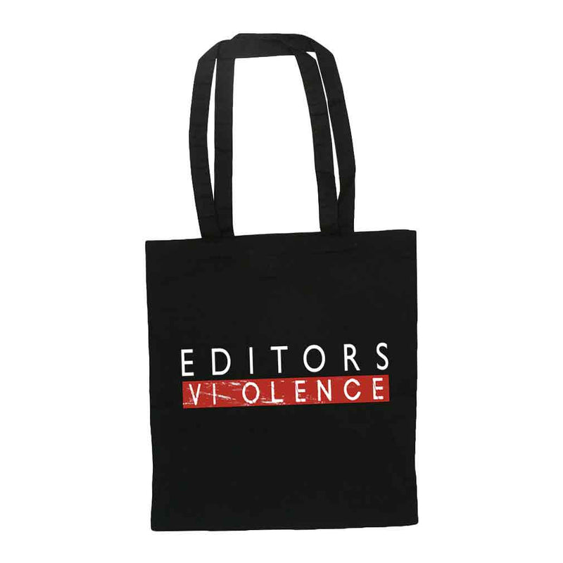 Violence Black Tote Bag