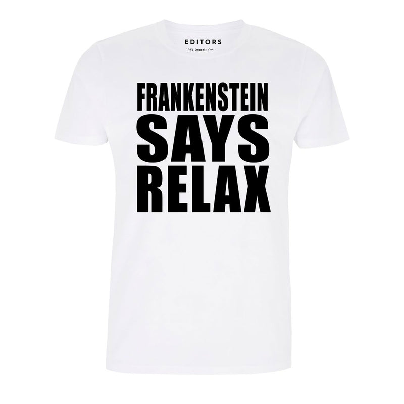 Frankenstein White Tee