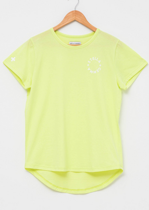Stella + Gemma | Colour Pop Collection | Sunny Lime Tee