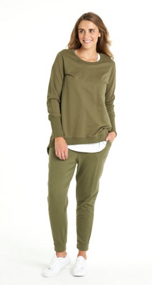 Betty Basics | Dolly Sweater | Khaki