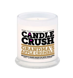 Candle Crush | Grandma's Apple Scented Candle