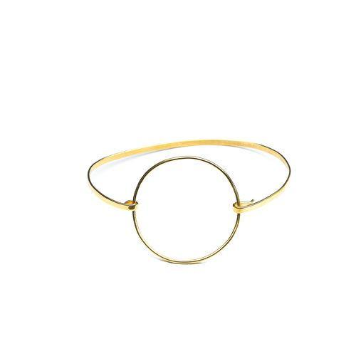 ANNA ANKLET, Goldplated