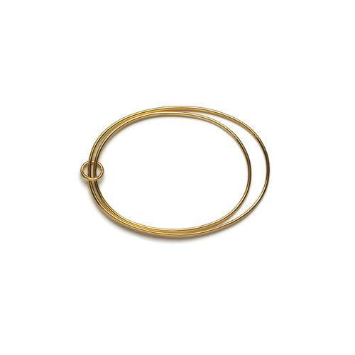 ANNA DOUBLE BANGLE, gold