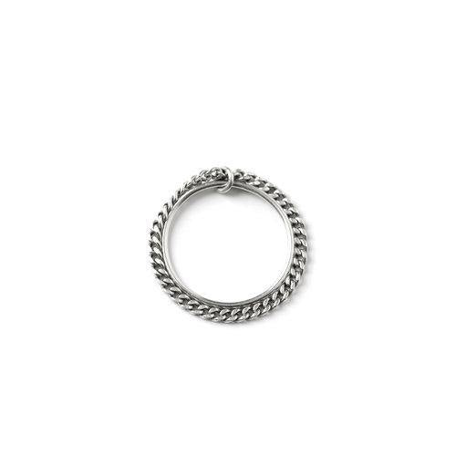 ELSA DOUBLE RING, silver