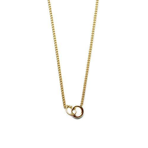 ANNA NECKLACE, gold
