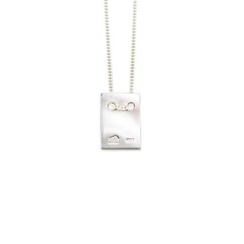 ANNA NECKLACE w tag, silver
