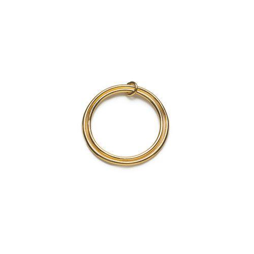 ANNA RING - 2 in 1 ring, gold
