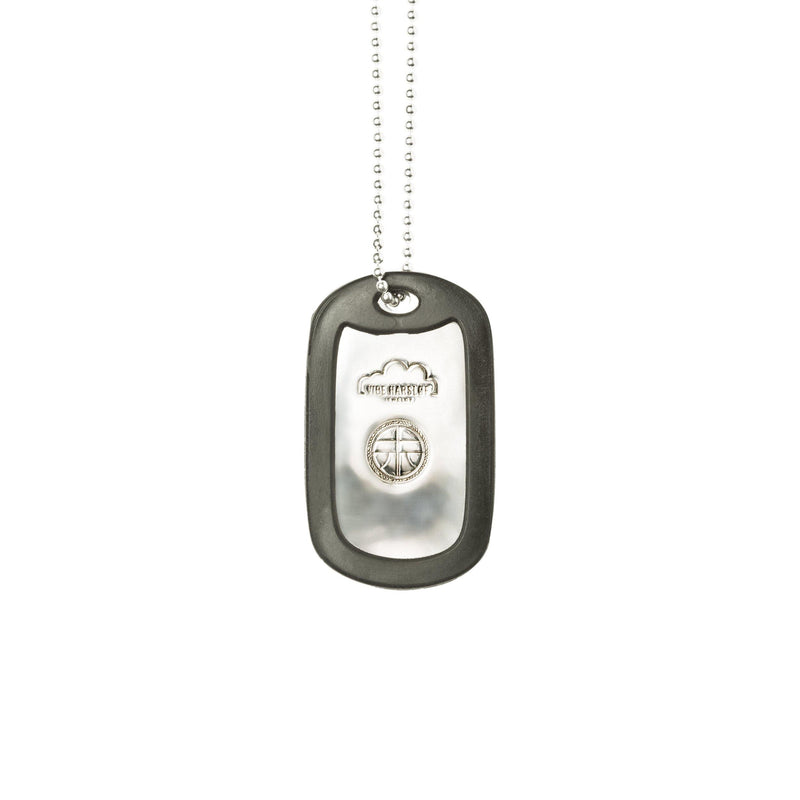 VH x AA single dog tag necklace