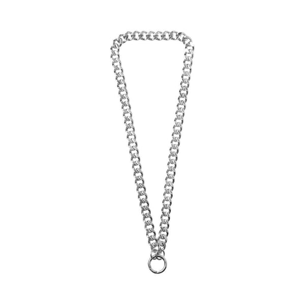 WE curb chain necklace