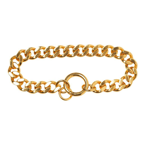WE CURB CHAIN BRACELET FAT - Vibe Harsløf Jewelry