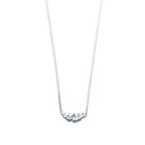 ELSA NECKLACE SMALL, silver