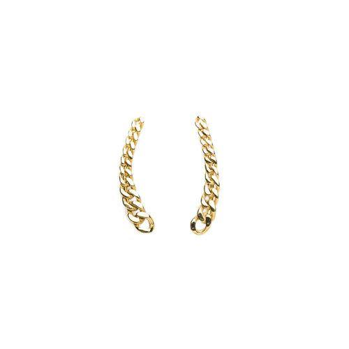 ELSA EARRING chain, gold