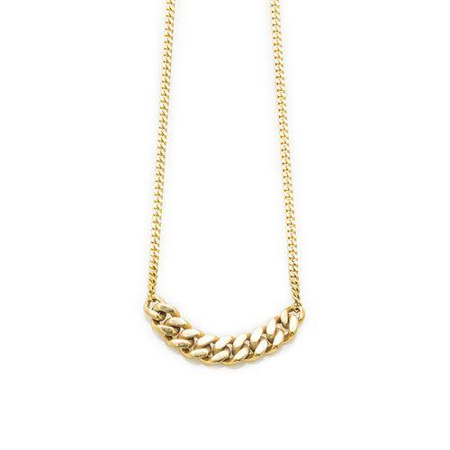 ELSA NECKLACE BIG, gold