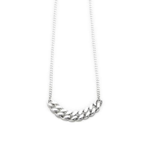 ELSA NECKLACE BIG, silver